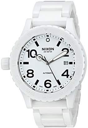 Nixon Men's A148-126 Ceramic 42-20 Automatic Dial Bracelet Watch