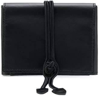 Yohji Yamamoto multi-foldable wallet
