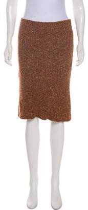 Chloé Knee-Length Rib Knit Skirt