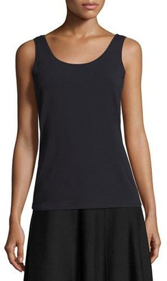 NIC+ZOE Perfect Solid Tank Top, Midnight $48 thestylecure.com