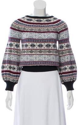 d54956cdfa85 Alexander McQueen Fair Isle Patterned Sweater