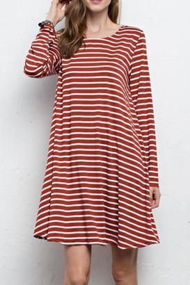 Jodifl Striped Swing Dress $42 thestylecure.com