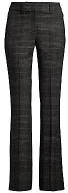 Elie Tahari Women's Anna Shadow Plaid Pants