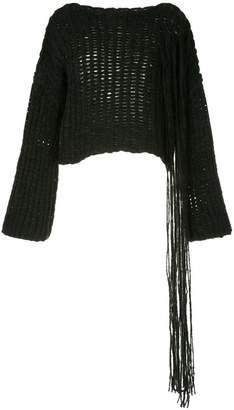 Isabel Benenato chunky knit jumper