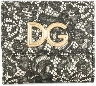 Dolce & Gabbana lace logo wallet