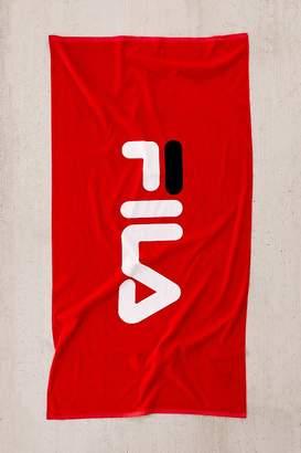 Fila + UO Logo Beach Towel