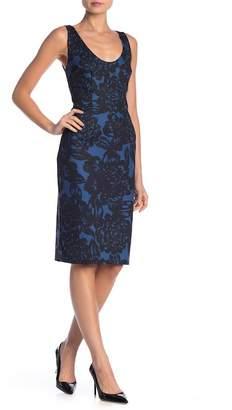 Trina Turk trina Chicago Scoop Neck Print Dress