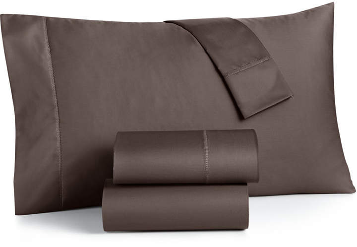 Closeout! Damask California King 4-Pc Sheet Set, 500 Thread Count 100% Supima Cotton, Created for Macy's Bedding