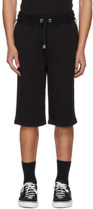 Versus Black Logo Band Shorts