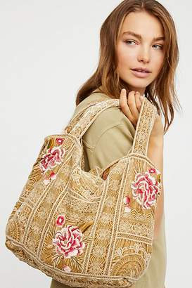 Johnny Was Summer Bloom Tote
