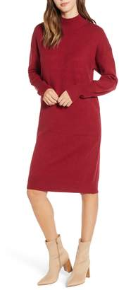 BP Mock Neck Sweater Dress