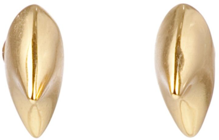 DOMINIC JONES - Gold thorn stud earrings
