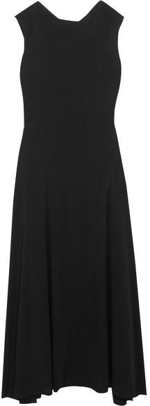 Ann DemeulemeesterAnn Demeulemeester - Crepe Maxi Dress - Black