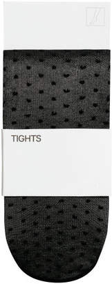 H&M Patterned Tights - Black