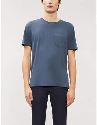Billy Reid Classic-fit scoop-neck cotton jersey T-shirt