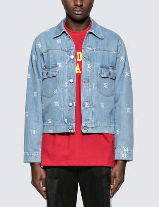 Misbhv Monogram Denim Jacket