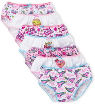 Jo-Jo Jojo Siwa (Girls 4-6x) 7-Pack Character Underwear