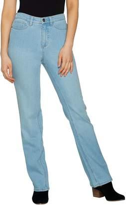 Denim & Co. Studio by Regular Classic Denim Slightly Bootcut Jeans