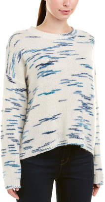 Autumn Cashmere Space Dye Cashmere & Silk-Blend Sweater