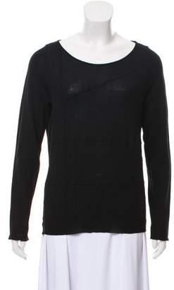 Burberry Merino Wool Long Sleeve Sweater