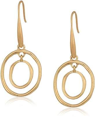 The Sak Mini Metal Orbit Drop Earrings