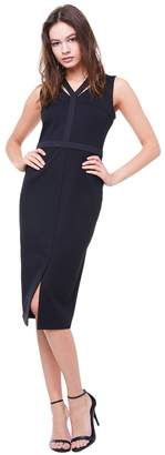 Juicy Couture Ponte Cutout Midi Dress