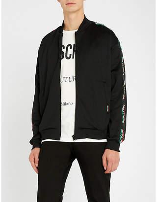 Moschino Logo-print jersey jacket