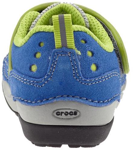 Crocs Washable Suede Sneaker (Infant/Toddler/Youth)