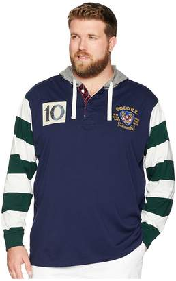 Polo Ralph Lauren Big Tall Hooded Rugby Men's Clothing