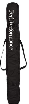 Peak Performance Logo Print Ski Bag - Mens - Black