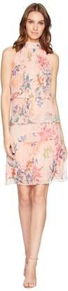 Nicole Miller Mock Neck Dress Women's Dress