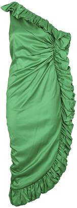 ATTICO Rouched Dress