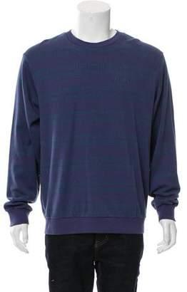 Supreme Dash Striped Crew Neck Sweatshirt w/ Tags