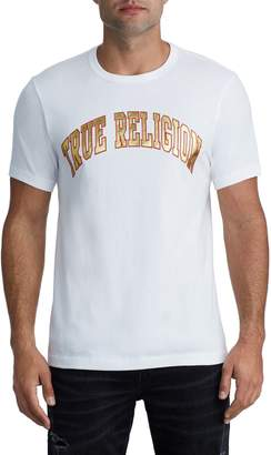 True Religion Brand Jeans Shine Logo T-Shirt