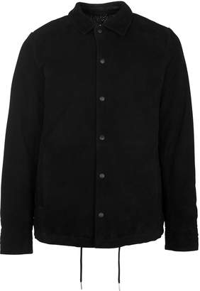 Whistles Suede Coach Jacket