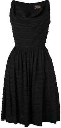 Vivienne Westwood fringe flared dress
