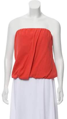 Alice + Olivia Pleat-Accented Strapless Top Pleat-Accented Strapless Top