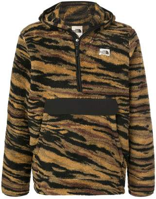 The North Face Campshire tiger-stripes hoodie