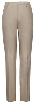 Banana Republic Athletic Tapered Non-Iron Stretch Cotton Houndstooth Pant