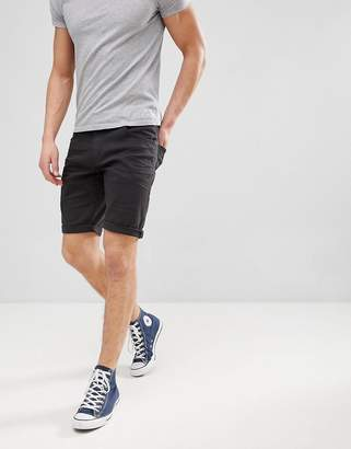 Tom Tailor 5 Pocket Short In Black