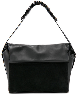 ALLSAINTS Maya Shoulder Bag in Black. $298 thestylecure.com