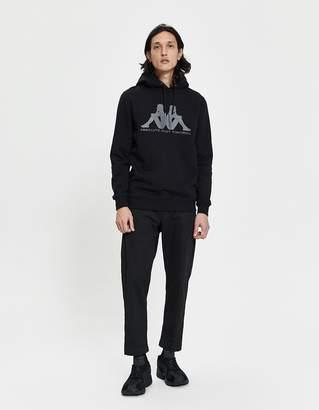 Kappa Kontroll Set-In Sleeve Pullover Hoodie in Black