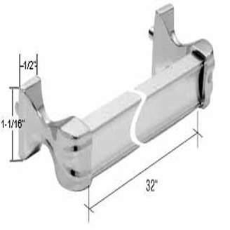 Co Gordon Glass Gordon Glass Chrome Towel Bar and Bracket Kit