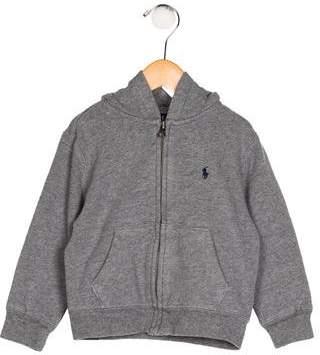 Ralph Lauren Boys' Hooded Zip-Up Jacket