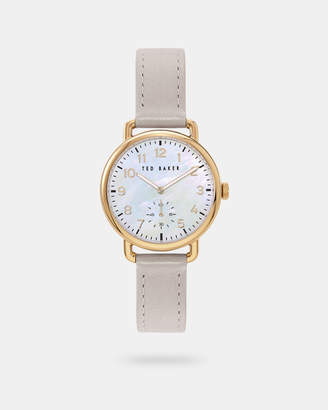 Ted Baker HANAHHA Leather strap watch