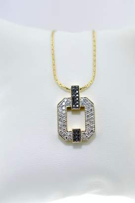 Black Diamond Tiara Fine Jewelry Necklace