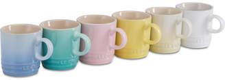 Le Creuset Sorbet Collection 6-Pc. Mugs Set