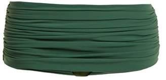 Norma Kamali Bill Low Rise Bikini Briefs - Womens - Green