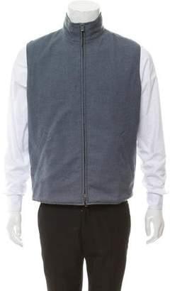 Loro Piana Reversible Wool Vest