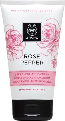 Apivita Rose Pepper Deep Exfoliating Cream 150ml